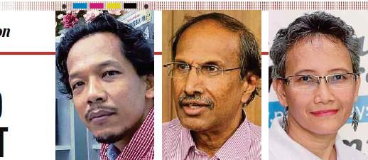 ??  ?? Dr Mohd Awang Idris James Nayagam Datin Noor Azimah Abdul Rahim