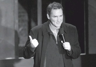 """?? 2003 PHOTO BY MICHAEL BRANDS/GETTY IMAGES ?? In 1994, Norm Macdonald took over as """"Weekend Update"""" anchor on """"Saturday Night Live,"""" changing the style of the segment to reflect a darker view of society. He left the show in 1998."""