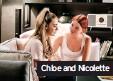 ??  ?? Chloe and Nicolette