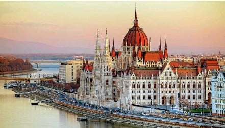 ??  ?? Even Hungary's Budapest-based Parliament looks impressively grand.