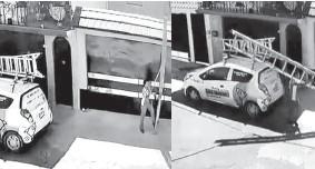 ?? Fotos: Especiales ?? En días pasados se difundió un video en donde se observa a un empleado de Total Play cortar un supuesto cable de Telmex. /