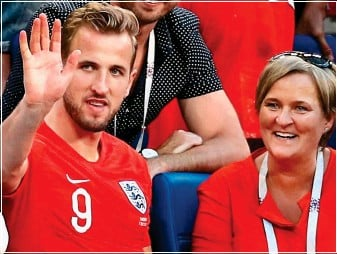 Picture of Harry Kane Mother, called Kim