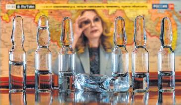 ?? ФОТО ДМИТРИЯ АЗАРОВА ?? Татьяна Голикова ведет большую работу с производителями вакцин