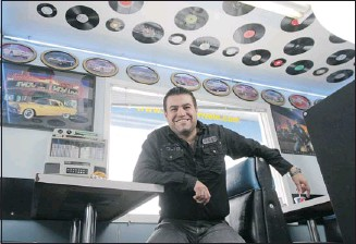 ?? Photos, Christina Ryan, Calgary Herald ?? Owner Zaher Najjar at Angel's Drive In, which is named after his oldest daughter and features an extensive menu of diner favourites for breakfast, lunch and dinner.