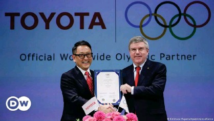 ??  ?? Toyota signed on as a major IOC sponsor in 2015