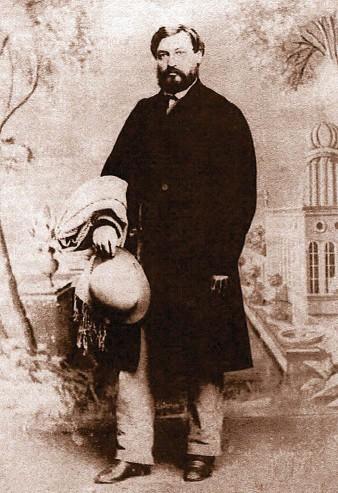 ??  ?? Der Antiquitätenhändler Moses Wilhelm Shapira (1830–1884) beging Suizid, nachdem das Britische Museum sein Fundstück als Fälschung überführt zu haben meinte.
