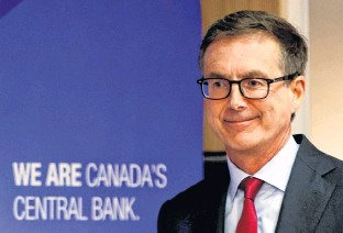 ?? BLAIR GABLE • REUTERS ?? Bank of Canada Governor Tiff Macklem now expects slack in economy to be absorbed in the second half of 2022.