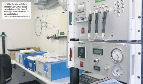 ?? – PHOTO ELSA ISKANDER/24 HEURES ?? LAV ille de Montréa lva investir 650 000 $ dans des stations d'échantillonnage pour mesurer la qualité de l'air.
