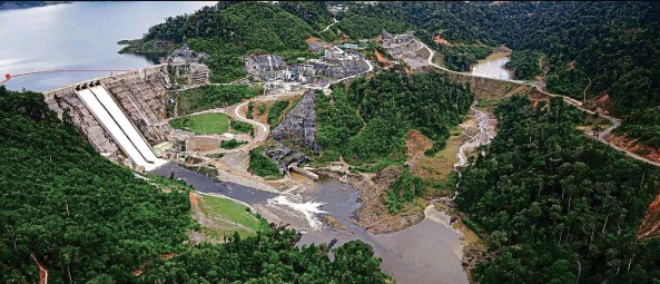 ??  ?? The Murum Hydroelectric Project is one of the primary sources of power for Sarawak Energy.