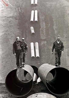 ??  ?? ТРУБЫ МИРА: Работы по укладке газопровода из Восточной Сибири к западной границе СССР, 1976 год