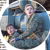 ??  ?? Cassie (Chloë Grace Moretz) is caught between Ben (Nick Robinson, above) and Evan (Alex Roe, top).
