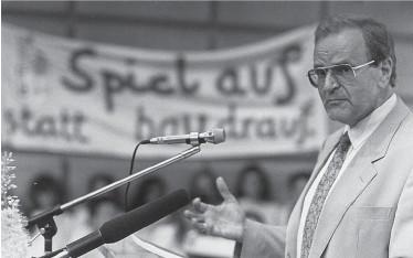 ?? Kleine Zeitung/Archiv ?? Fritz Csoklich wäre am heutigen 5. Mai 90 jahre alt geworden.