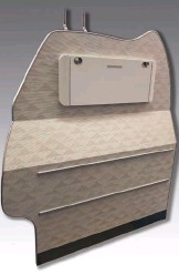 ??  ?? Larger cabin interiors like partition walls and storage cabinets are also part of INNOVINT's product range.