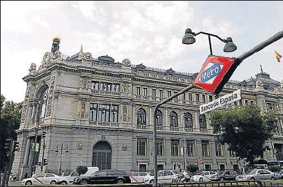 ?? EMILIA GUTIÉRREZ / ARCHIVO ?? El Banco de España forma parte del Mecanismo Único de Supervisión europeo