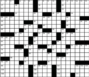 prince hamlet for one crossword