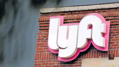 ?? REUTERS ?? Lyft will receive a 2.5 per cent stake in the Argo AI, a self-driving car startup.
