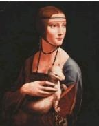 ??  ?? La dama del armiño fue una de las grandes ausentes. Actualmente se encuentra en Cracovia.