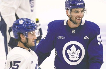 ?? Craig Robertson / postmedia news files ?? Toronto Maple Leafs captain John Tavares already may have played the best hockey of his NHL career, with five seasons left on his Us$11-million-a-year contract.