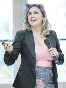 ??  ?? Cinthia Garcete Urunaga, jueza penal de garantías de Ciudad del Este que experimentó un llamativo crecimiento patrimonial.