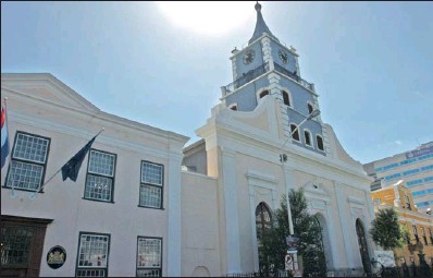 ?? PICTURE LEON LESTRADE ?? WHITHER THE FUTURE: The city's rejection of the development plans for the Evangelical Lutheran Church block in Strand Street should not stifle the debate over how we see the future, especially as Cape Town is bidding to become 2014 World Design Capital.