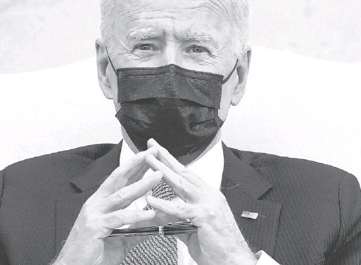 ?? ASSOCIATED PRESS ?? President Biden doesn't have Republican support in Congress, but he said he has found approval among Republican voters. Polls show some independents and Republicans support parts of his agenda, including the American Rescue Plan.
