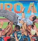 ?? FOTO: AFP ?? Rogerio Ceni, ídolo de Sao Paulo, consagró campeón a Flamengo.