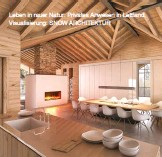 ??  ?? Leben in rauer Natur: Privates Anwesen in Lettland. Visualisierung: SNOW ARCHITEKTUR