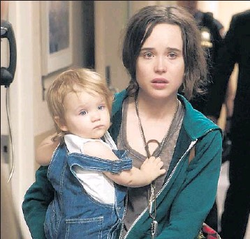 """?? Photographs from Route One / ICM Partners ?? ELLEN PAGE portrays a temp nanny who runs off with a disinterested mother's toddler in """"Tallulah."""""""