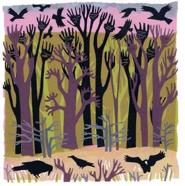 Image result for rooks following a plough