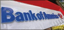 ?? JOHN BAZEMORE/AP ?? North Carolina-based Bank of America earned $8.1 billion in the quarter, equal to 86 cents per share, compared with a profit of $4.01 billion, or 40 cents a share, in the same period a year earlier.