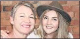 ??  ?? REDUCING STIGMA: Beechworth resident Lisa Cartledge, pictured with her daughter Liv, is walking from Beechworth to the Sydney Harbour Bridge in an effort to break down prejudices about suicide.