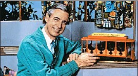 "?? FOCUS FEATURES ?? A ""Mister Rogers' Neighborho­od"" special aired two days after Kennedy was killed."