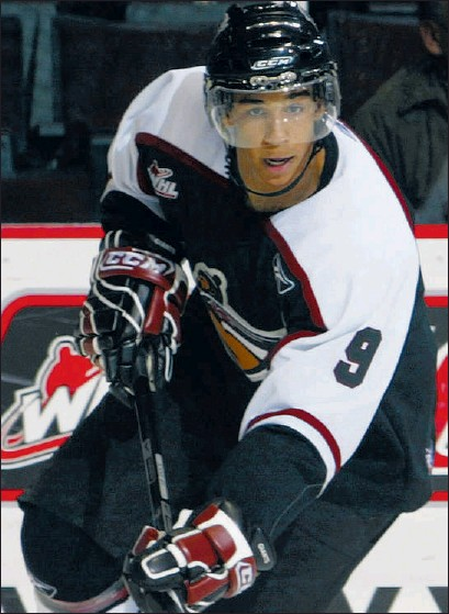 ??  ?? Evander Kane's competitiveness made him a star with the Vancouver Giants.