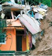 ??  ?? Les glissements de terrain ont fait au moins 38 morts au Mexique.