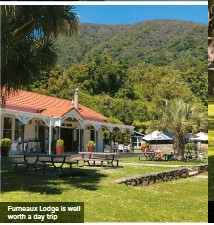 ??  ?? Furneaux Lodge is well worth a day trip