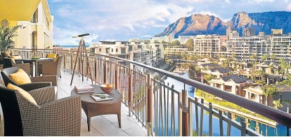 ??  ?? SUN SPOT: Sol Kerzner's multimillion-dollar baby, the One&Only Cape Town at the V&A Waterfront
