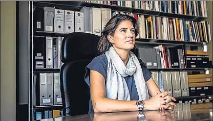 ?? LUIS TATO ?? Elena Massot, consejera delegada de la promotora inmobiliaria Vertix