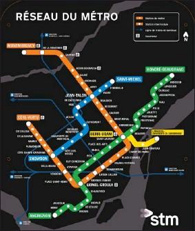 Stcum Metro Map.Pressreader Montreal Gazette 2012 11 12 Stm S New Metro Map