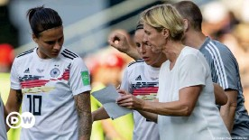 ??  ?? Dzsenifer Marozsan is a key player for Germany coach Martina Voss-Tecklenburg