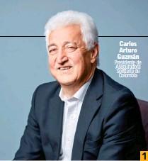 ??  ?? Carlos Arturo Guzmán Presidente de Aseguradora Solidaria de Colombia 1