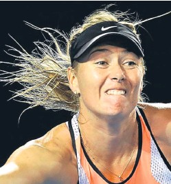 ?? Picture: Getty Images. ?? Maria Sharapova: plans to appeal against the decision made by the independent tribunal, which concluded that the Russian had not deliberately broken anti-doping rules.