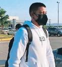 ?? FOTO: CORTESÍA DIEZ ?? Joshua Canales llegó a SPS para incorporarse a la H Sub 23.