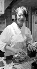 ??  ?? Chef Rai's wife, Midori