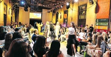 ??  ?? Models walk the runway at the Mirakai Fashion Show