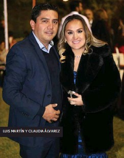 ??  ?? LUIS MARTÍN Y CLAUDIA ÁLVAREZ