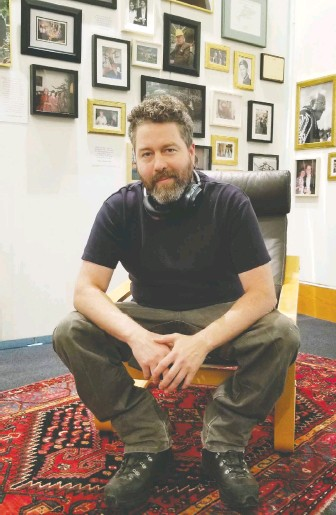 ??  ?? Haida artist Gwaii Edenshaw, considered to be Bill Reid's final apprentice, guest curated the show To Speak with a Golden Voice. The show includes some of Reid's works in progress, offering insight into his artistic process.