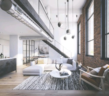 ??  ?? Many of the heritage Wonder Condos units will feature exposed brick walls, soaring warehouse windows and lofty ceiling heights, some as high as four metres.