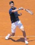 ?? Novak Djokovic. AP ??