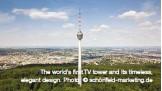 ??  ?? The world's first TV tower and its timeless, elegant design. Photo: © schönfeld-marketing.de