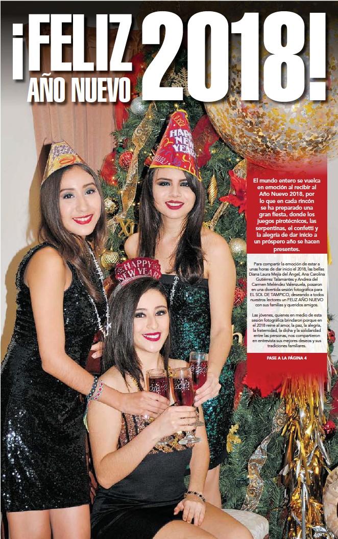 Pressreader El Sol De Tampico 2017 12 31 Feliz 2018 Ano Nuevo